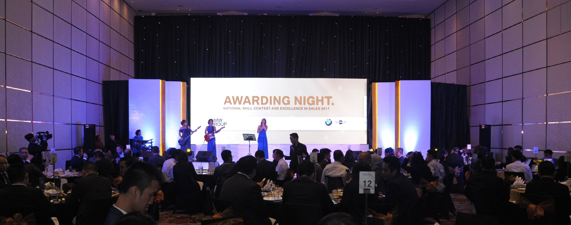 BMW Awarding Night Event